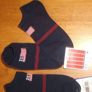 Accessories - Vintage American Flag no show ankle/booties socks